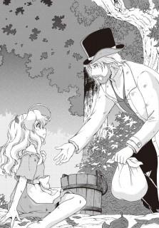 Cosette and Jean Valjean