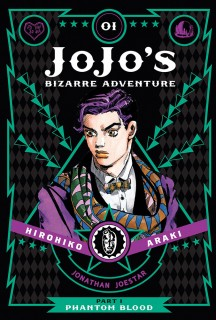 JoJo's Bizarre Adventure, Part 1: Phantom Blood, Volume 1