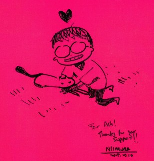 Ken Niimura Sketch