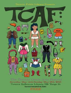 TCAF 2016 Poster - Kate Beaton