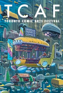 TCAF 2016 Poster - Kazu Kibuishi