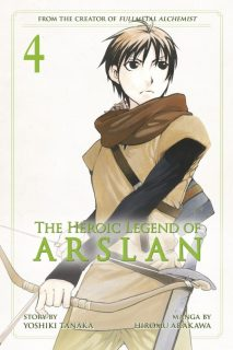 The Heroic Legend of Arslan, Volume 4