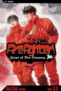 Firefighter! Daigo of Fire Company M, Volume 11